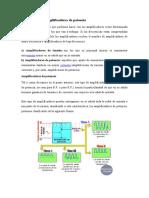 Clasificación de amplificadores de potencia