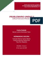Problemario UNIDAD 3- Circuitos