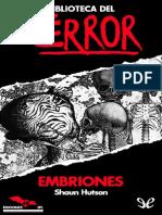 Embriones - Shaun Hutson