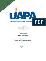 unidad4 Estudio de la Literatura Española