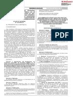 Reglamento de proyectos especiales de inversión pública