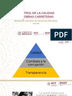 2. CONTROL DE CALIDAD EN CARRETERAS Vinicio Andres Serment Guerrero