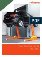 Pont élévateur mobile FHB3000_FR