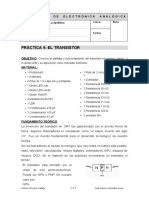 Practica 9 transistor