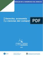 Derecho, Economía y Ciencias del Comportamiento
