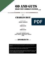 Blood & Guts 2 - Battlefield Unit Combat System (print)