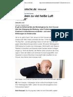"""Interview mit Werber Amir Kassaei - """"Wir haben zu viel heiße Luft verkauft"""" -- sueddeutsche.de"""