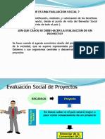 EVALUACION SOCIAL