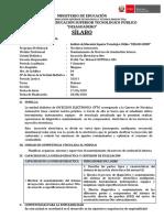 SILABUS- INYECCION ELEC.