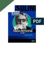 Pasolini Pier Paolo - Nada Personal