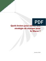 Quels leviers pour édifier une stratégie de marque pour le Maroc