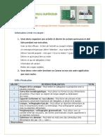 11° Critères de présentation et évaluation du projet final