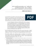 Adolfo leon gomez - un_comentario_justificacionista_la_adiccion_justificacionista_de_d_miller
