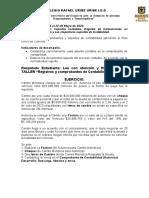 taller Registros y Soportes de Contabilidad 9º IIp.