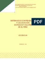 Sistema de pagos en el Perú