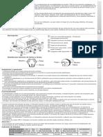 Manual estabilizador TVR Concept1i-2i-USB-AV-RevD
