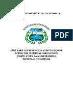 GUIA PARA LA PREVENCION Y PROTOCOLO DE ACTUACION FRENTE AL CORONAVIRUS (COVID-19) EN LA MUNICIPALIDAD.pdf
