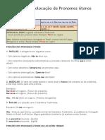 Pronomes Colocação de Pronomes Átonos.docx