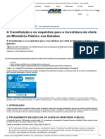 A Constituição e os requisitos para a investidura do chefe do Ministério Público nos Estados.pdf
