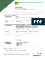 ACIDO CLORHIDRICO 37% FDS