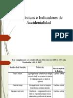 ESTADISTICAS DE ACCIDENTALIDAD