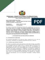 Sentencia constitucional 1075-2019-S4