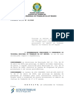 Portaria TRT GP 10-2020