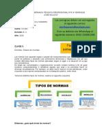 Clase 3- Normas. Clases de normas..docx