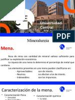 Mineralurgia 3