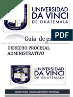 6. GUÍA DE DERECHO PROCESAL ADMINISTRATIVO (1)
