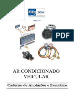 Ar Condicionado Veicular - Caderno de Anotação e Exercícios