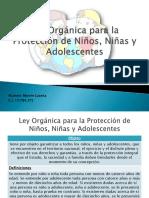 Presentacion Lopnna Legislacion Penal Especial Reforma Comp