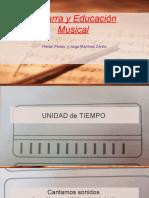 Guitarra y Educación Musical diapositivas