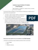 Planta de Tratamiento de Aguas Residuales de Ucubamba