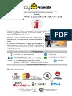 Presentació SEGURIDAD CONTRA INCENDIOS 2020.1