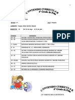 CONTENIDO 4° GRADO II BIM2015