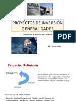 Diapos Proyectos de Inversión