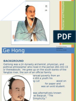 Ge Hong Presentation