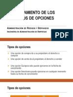 Clase 9a - Mercado de Opciones(1)