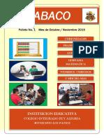 ABACO PERIODICO DIGITAL 2015 Edición No.1