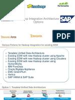 hadooparchitectureoptionsforexistingedw-140116001205-phpapp01
