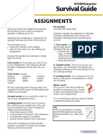 A4 Starting assignments