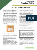 E1 Effective Exam Preparation