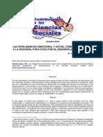 articulo inteligencias emocional y social