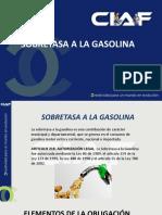 SOBRETASA A LA GASOLINA