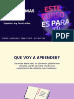 CURSO DE PLATAFORMAS DIGITALES