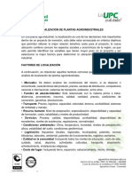 LOCALIZACIÓN DE PLANTAS