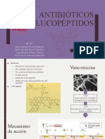 Antibióticos glucopéptidos
