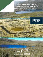 Evaluación normativa, social y ambiental de los páramos en Colombia