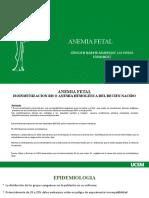 ANEMIA FETAL Y METODO BASADO EN CONOCIMIENTOS DE DIAS FERTILES